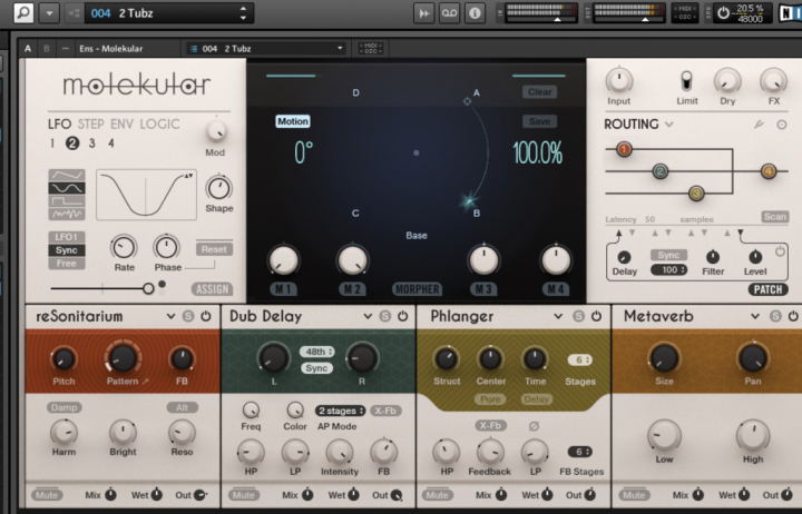 Native Instruments' Molekular