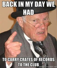 Old Guy Record Crates