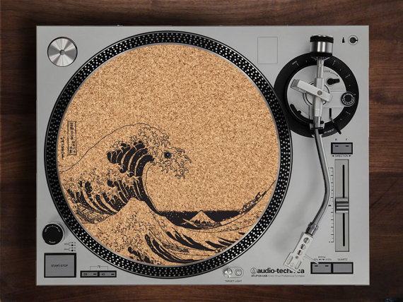 The Great Wave Slipmat