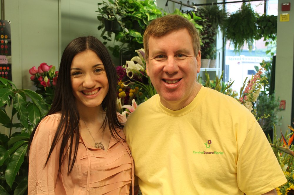 Current owner David Levine with his daughter, Jackie, who helps run the store